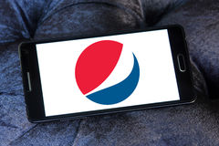 Pepsi logo Stock Photo