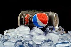 Pepsi max Foto de archivo libre de regalías
