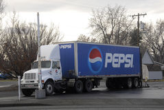 PEPSI TRUCK Stock Photos