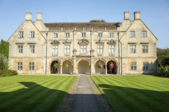 Pepys library at Magdalene college, Cambridge, England. Royalty Free Stock Images