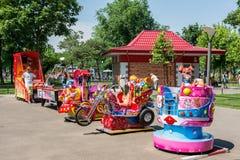 Pequeña área del patio de los niños Foto de archivo