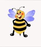 Pequeña abeja stock de ilustración