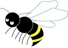 Pequeña abeja Fotografía de archivo