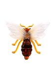 Pequeña abeja plástica Fotografía de archivo
