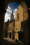 Pequeña aldea europea Fotos de archivo libres de regalías