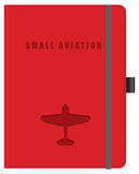 Pequeña aviación de la libreta stock de ilustración