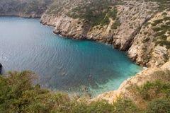 Pequeña bahía en Portugal Imagen de archivo