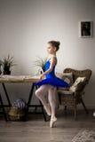 Pequeña bailarina imagenes de archivo