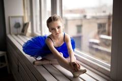 Pequeña bailarina foto de archivo
