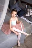 Pequeña bailarina Fotografía de archivo