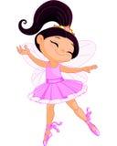 Pequeña bailarina de hadas stock de ilustración