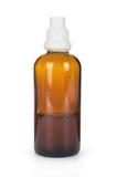 Pequeña botella con la droga Fotos de archivo libres de regalías