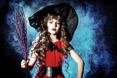 Pequeña bruja Imágenes de archivo libres de regalías