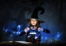 Pequeña bruja Fotos de archivo libres de regalías