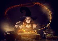 Pequeña bruja Imagen de archivo