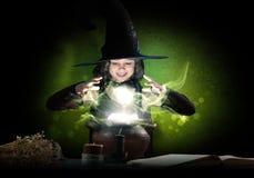 Pequeña bruja Imagen de archivo libre de regalías