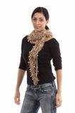 Pequeña bufanda de las costuras Imagen de archivo libre de regalías