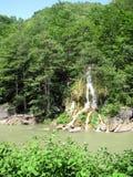 Pequeña caída del agua Imagen de archivo libre de regalías