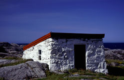 Pequeña cabaña Imagen de archivo libre de regalías