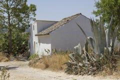 Pequeña cabaña rural en Andalucía Fotografía de archivo