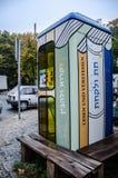Pequeña cabina, Berlín, Alemania Imagen de archivo libre de regalías