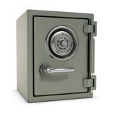 Pequeña caja fuerte Foto de archivo