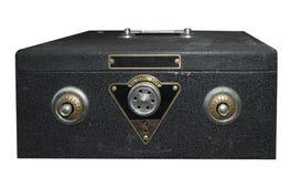 Pequeña caja fuerte con los bloqueos gemelos de Combintaion Imagenes de archivo