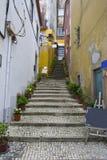 Pequeña calle Foto de archivo libre de regalías