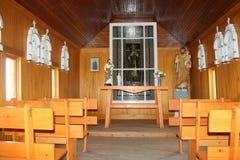 Pequeña capilla del país Fotos de archivo