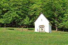 Pequeña capilla en museo al aire libre imágenes de archivo libres de regalías