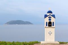 Pequeña capilla ortodoxa de la iglesia Foto de archivo libre de regalías