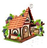 Pequeña casa de hadas libre illustration