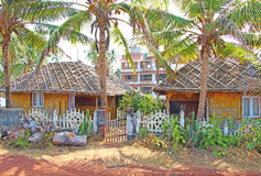 Pequeña casa de huéspedes La India del sur Imagenes de archivo