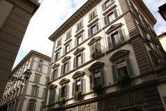 Pequeña casa en el centro de Florencia, Italia Fotografía de archivo libre de regalías