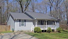 Pequeña casa Front Porch Fotos de archivo libres de regalías