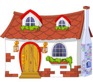 Pequeña casa linda Foto de archivo libre de regalías