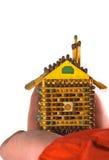 pequeña casa preferida imagen de archivo