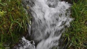 Pequeña cascada almacen de metraje de vídeo