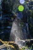 18 pequeña cascada de 04 376 A en el parque del paisaje en Kassel fotos de archivo libres de regalías