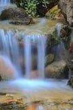 Pequeña cascada en un jardín Fotografía de archivo