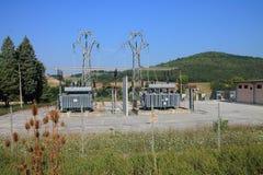 Pequeña central eléctrica Fotos de archivo libres de regalías