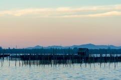 Pequeña choza del pescador Imagen de archivo