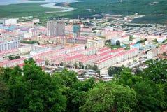 Pequeña ciudad Imagen de archivo
