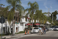 Pequeña ciudad de Dora del soporte en la Florida foto de archivo libre de regalías