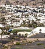 Pequeña ciudad de Haria en Lanzarote Imagenes de archivo