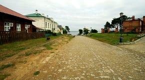 Pequeña ciudad de Sviyazhsk, Rusia Fotografía de archivo libre de regalías
