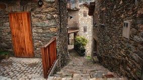 Pequeña ciudad en Cataluña imagen de archivo