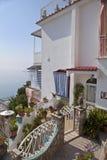 Pequeña ciudad italiana 3 de la playa Foto de archivo