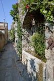 Pequeña ciudad italiana 4 de la playa Imagen de archivo