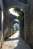 Pequeña ciudad italiana 7 de la playa Fotos de archivo